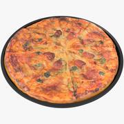 Pizza_8k PBR 3d model