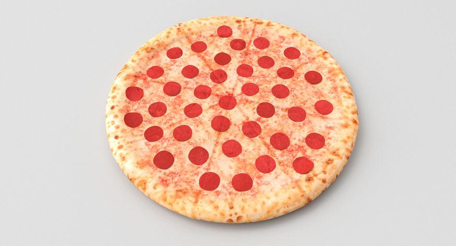 Pizza 3D Model royalty-free 3d model - Preview no. 4