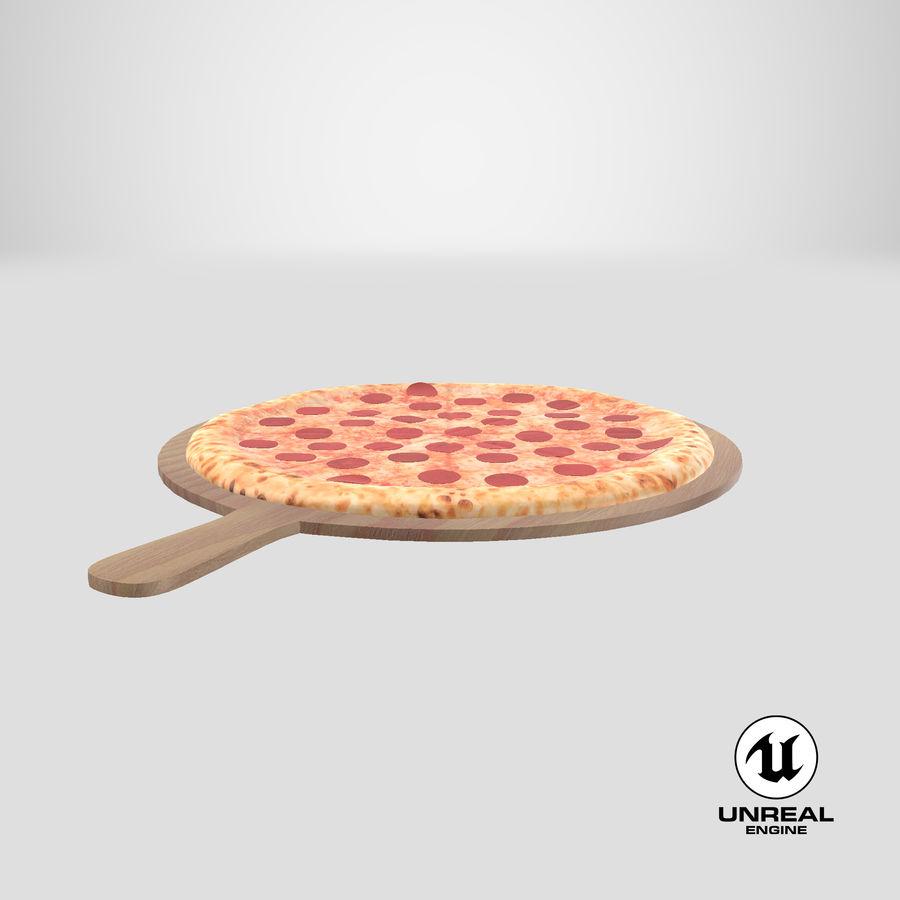Pizza 3D Model royalty-free 3d model - Preview no. 19