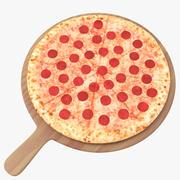Pizza Modelo 3D modelo 3d