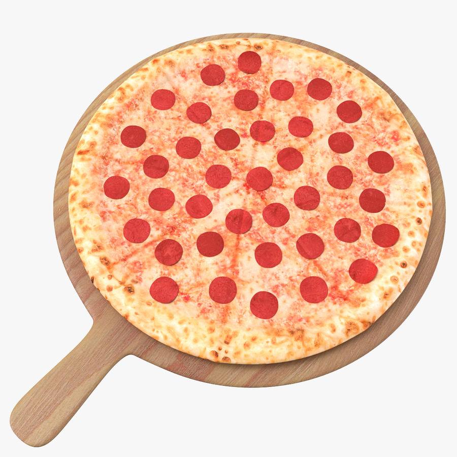 Pizza 3D Model royalty-free 3d model - Preview no. 1
