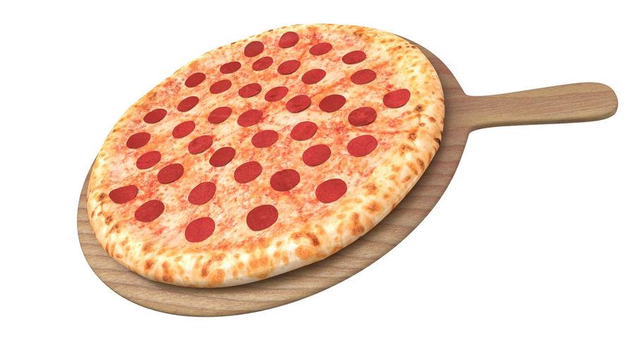 Pizza 3D Model royalty-free 3d model - Preview no. 3