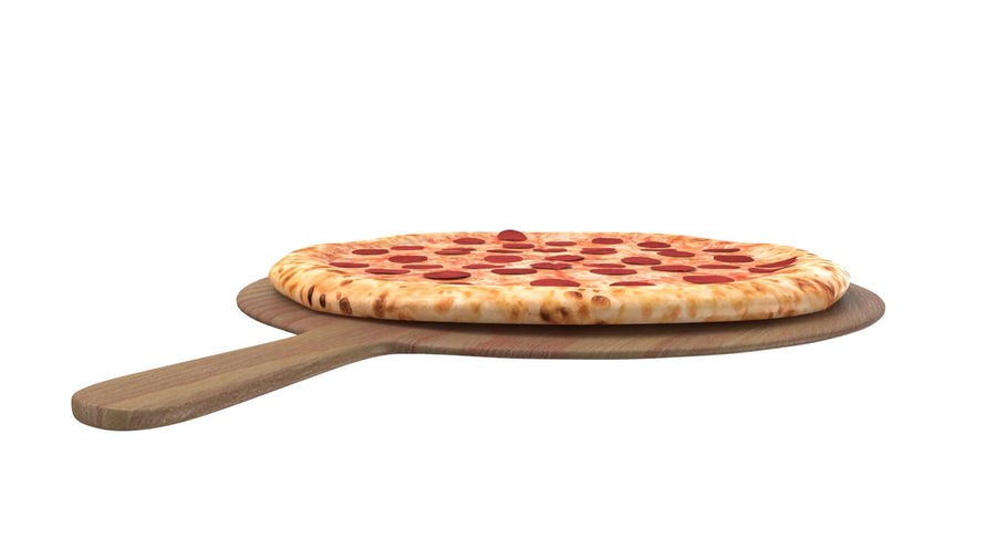 Pizza 3D Model royalty-free 3d model - Preview no. 8
