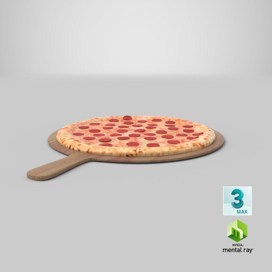 Pizza 3D Model royalty-free 3d model - Preview no. 17