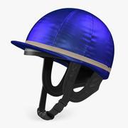 Wyścigi konne Jockey Helmet Model 3D 3d model