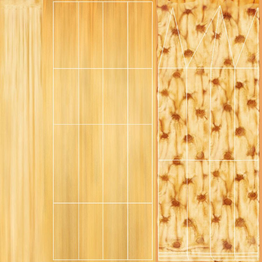 Buğday tarlası royalty-free 3d model - Preview no. 18