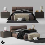 Kit Yatak Odası 3d model