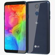 LG Q7 (Alpha) Moroccan Blue 3d model