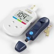 Glucose Meter System 3d model