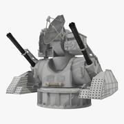 防空Kashtan战斗模块索具3D模型 3d model