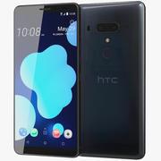 HTC U12 Plus Translucent Blue 3d model
