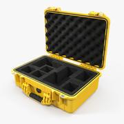 Pelican Case Fotoğraf Köpüğü Sarı 3d model