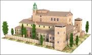 Valldemossa Charterhouse, Mallorca, Balearic Islands. 3d model