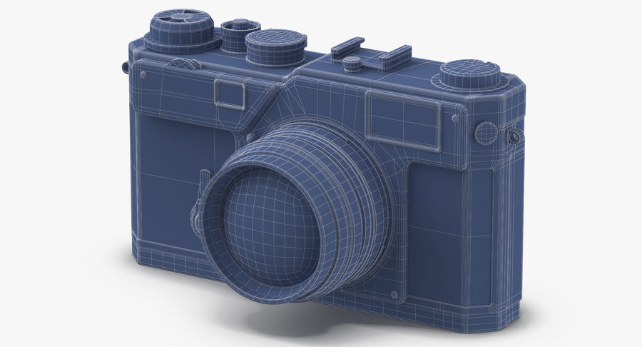 Vintage Camera royalty-free 3d model - Preview no. 16