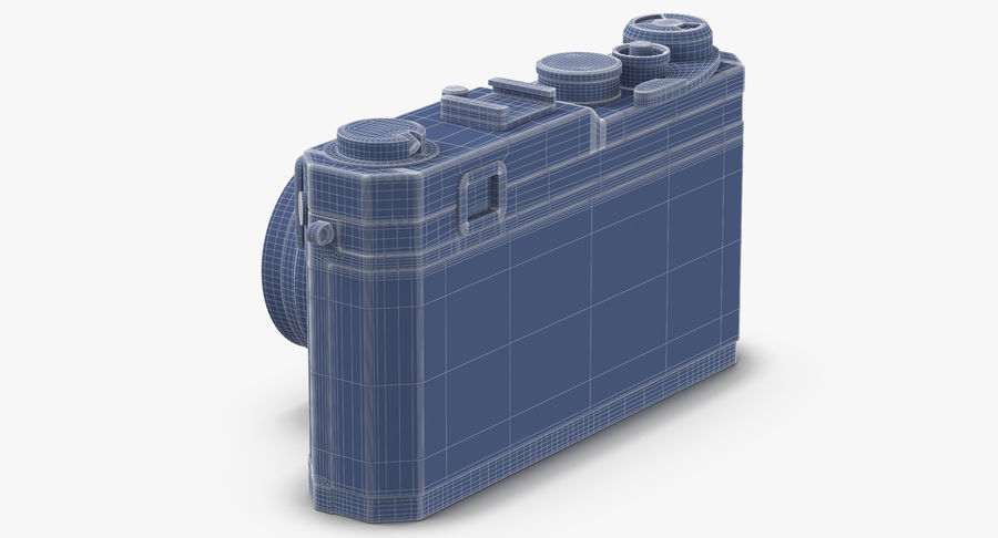 Vintage Camera royalty-free 3d model - Preview no. 13