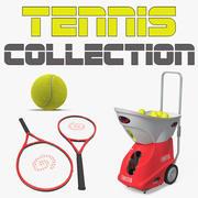 Tennis 3D-modellencollectie 3d model