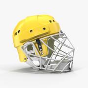 Eishockey Helm Schutzmaske 3D-Modell 3d model