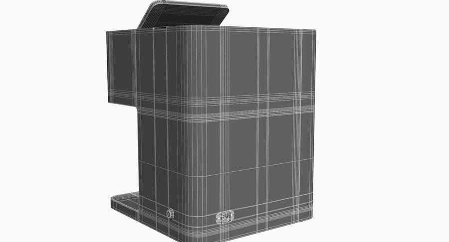 3D Selfieコーヒープリンター機械モデル royalty-free 3d model - Preview no. 13