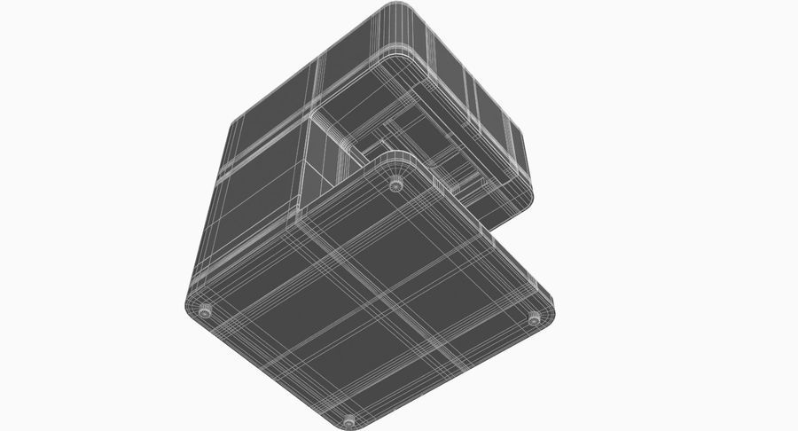 3D Selfieコーヒープリンター機械モデル royalty-free 3d model - Preview no. 15