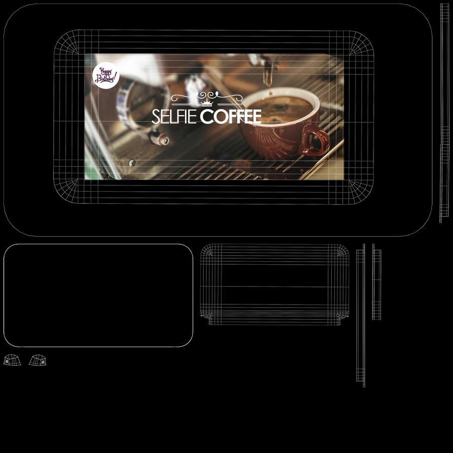 3D Selfieコーヒープリンター機械モデル royalty-free 3d model - Preview no. 17