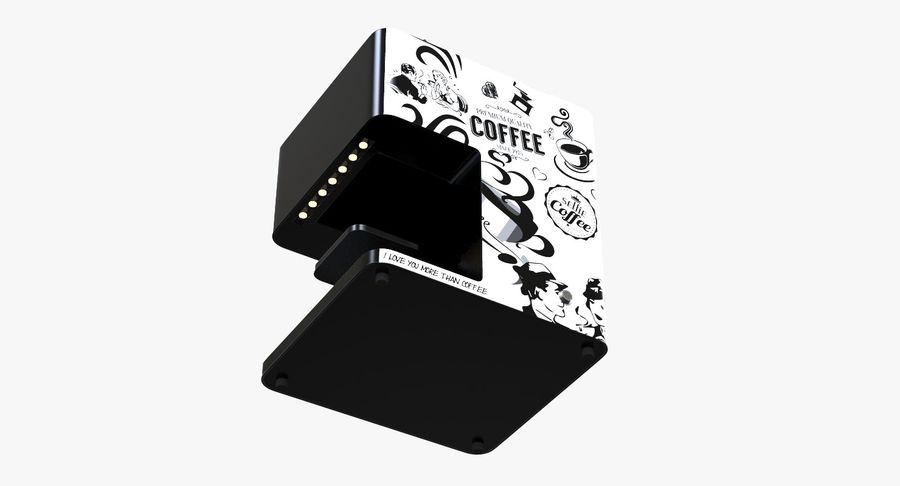 3D Selfieコーヒープリンター機械モデル royalty-free 3d model - Preview no. 11