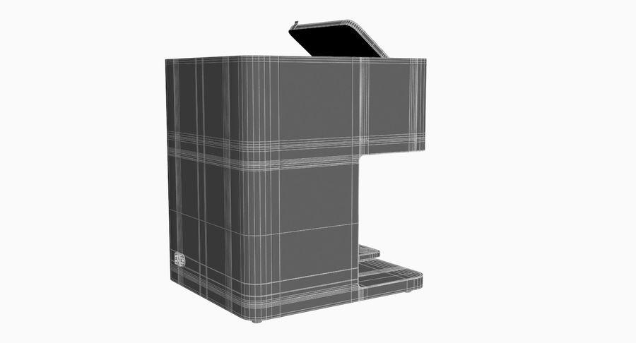 3D Selfieコーヒープリンター機械モデル royalty-free 3d model - Preview no. 14
