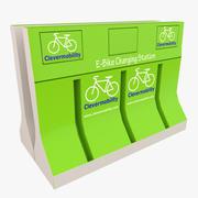 E-Bike Ladestation 3d model