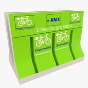 E-Bike Ladestation 02 3d model