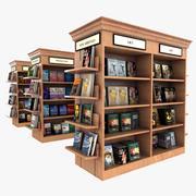 Bookstore Shelves 3d model