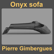 Onyx sofa 3d model
