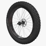 Fatbike Front Wheel 3d model
