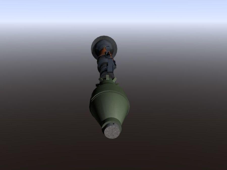 角色扮演游戏7(枪与火箭) royalty-free 3d model - Preview no. 9