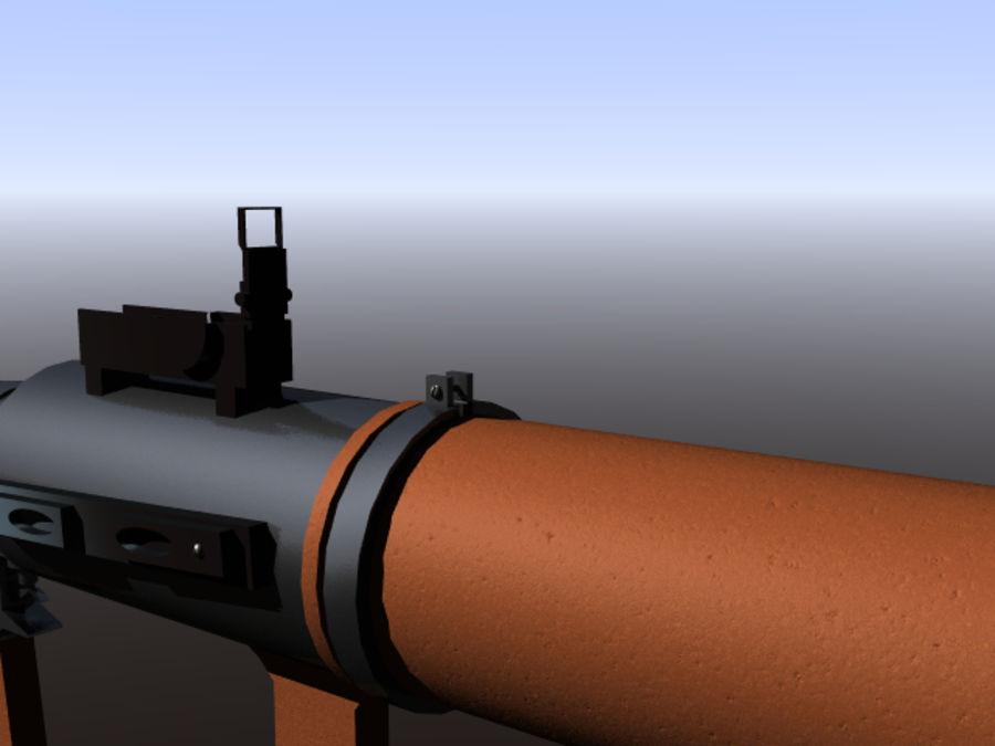 角色扮演游戏7(枪与火箭) royalty-free 3d model - Preview no. 11