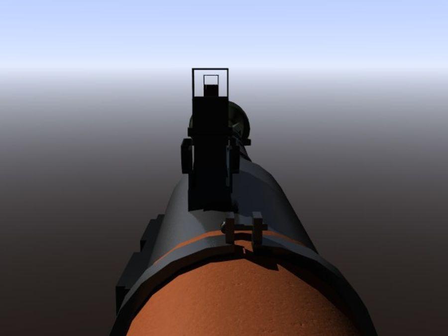 角色扮演游戏7(枪与火箭) royalty-free 3d model - Preview no. 7