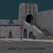 American War Memorial - Gibraltar modelo 3d