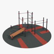 Jimnastik Parkı 3d model