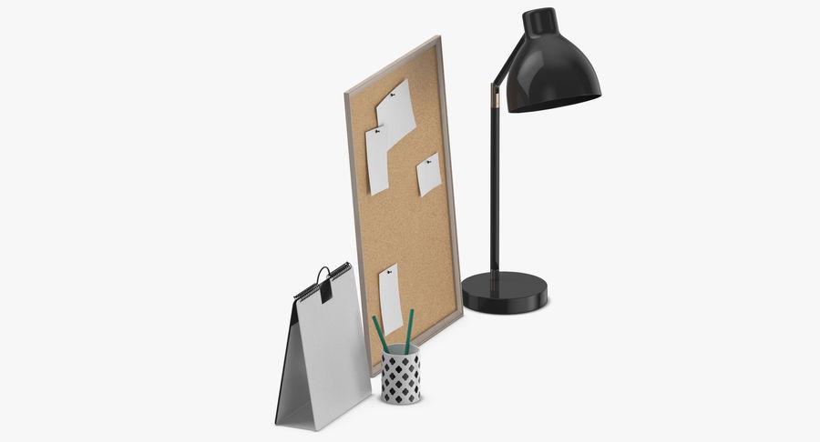 Juego de escritorio de diseño 01 royalty-free modelo 3d - Preview no. 7