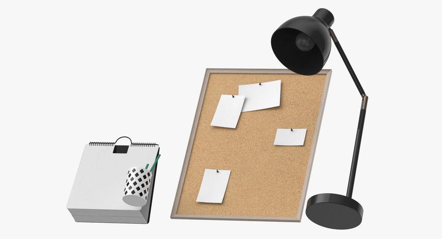 Juego de escritorio de diseño 01 royalty-free modelo 3d - Preview no. 9