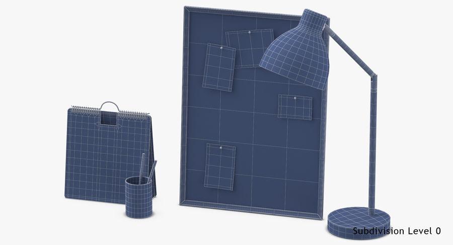 Juego de escritorio de diseño 01 royalty-free modelo 3d - Preview no. 17