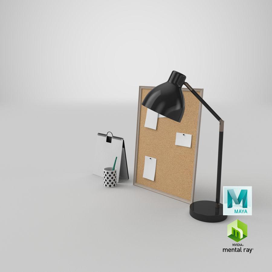 Juego de escritorio de diseño 01 royalty-free modelo 3d - Preview no. 21
