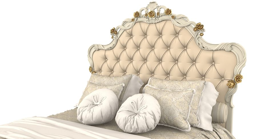 Синьорини и Коко Collezione Forever Bed royalty-free 3d model - Preview no. 8