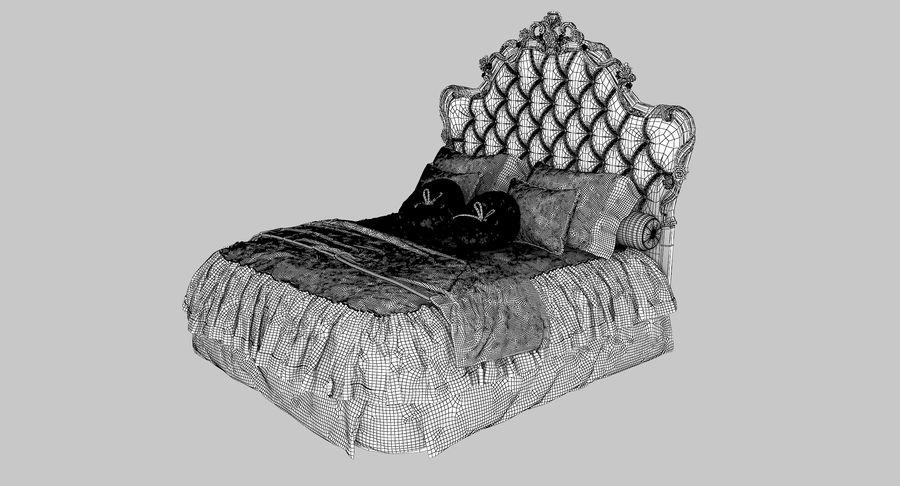 Синьорини и Коко Collezione Forever Bed royalty-free 3d model - Preview no. 12