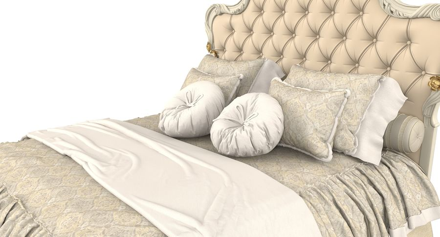 Синьорини и Коко Collezione Forever Bed royalty-free 3d model - Preview no. 7