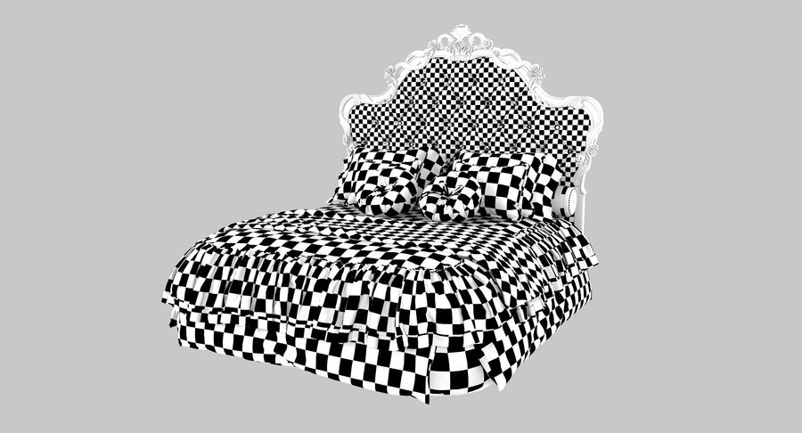 Синьорини и Коко Collezione Forever Bed royalty-free 3d model - Preview no. 13