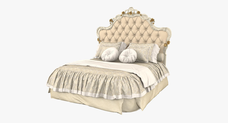 Синьорини и Коко Collezione Forever Bed royalty-free 3d model - Preview no. 2