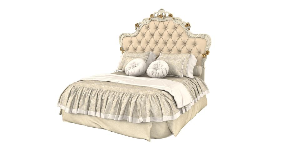 Синьорини и Коко Collezione Forever Bed royalty-free 3d model - Preview no. 3