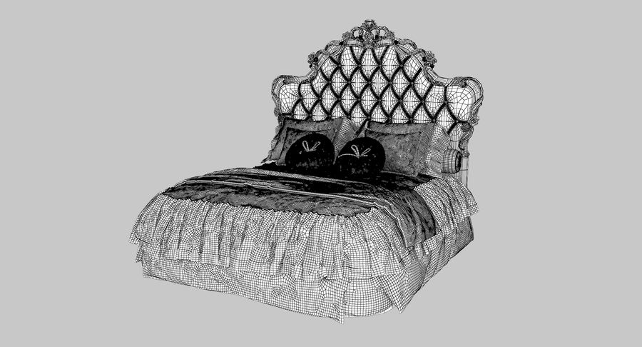 Синьорини и Коко Collezione Forever Bed royalty-free 3d model - Preview no. 9