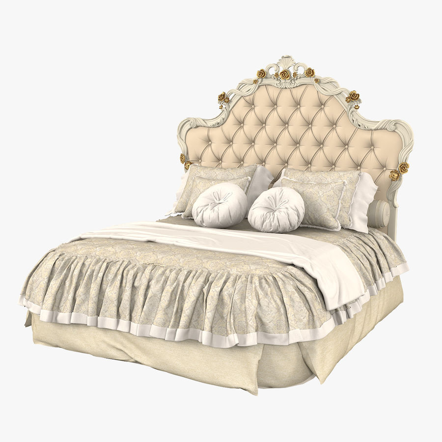 Синьорини и Коко Collezione Forever Bed royalty-free 3d model - Preview no. 1