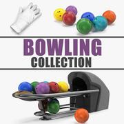 Bowling 3D Models Collection 3 3d model