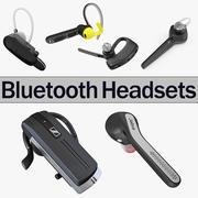 Bluetooth Kulaklık 3D Modeller Koleksiyonu 2 3d model